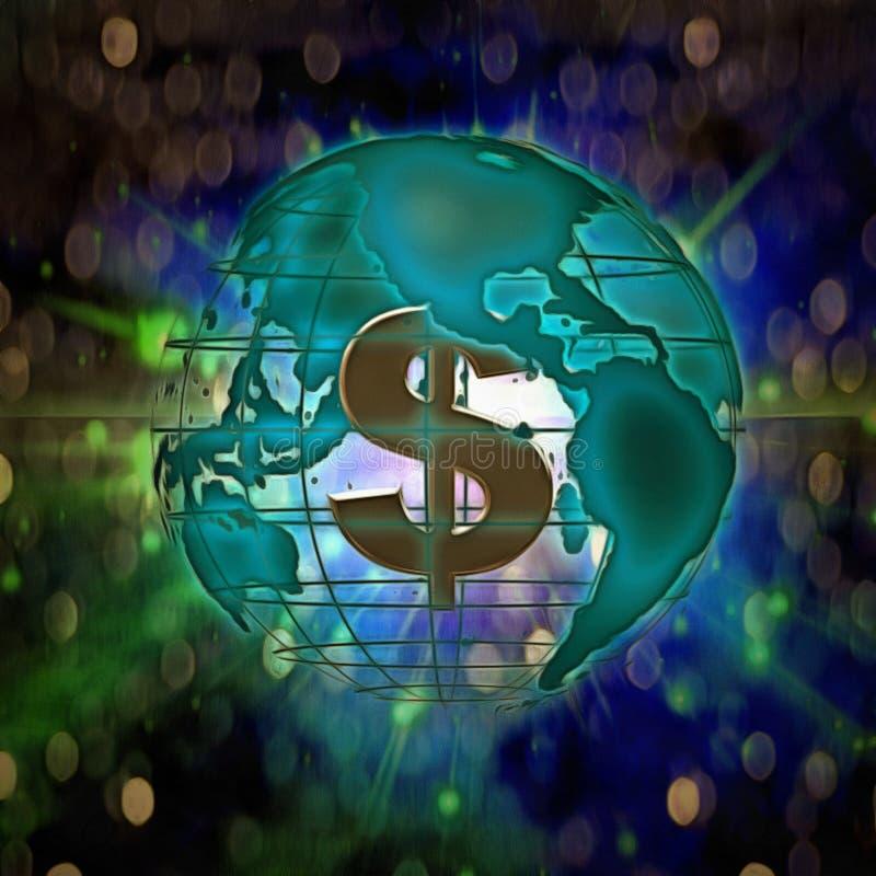 wszechmocny dolar royalty ilustracja