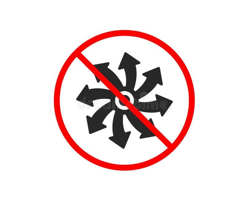 wszechstronna ikona Multifunction znak wektor ilustracji