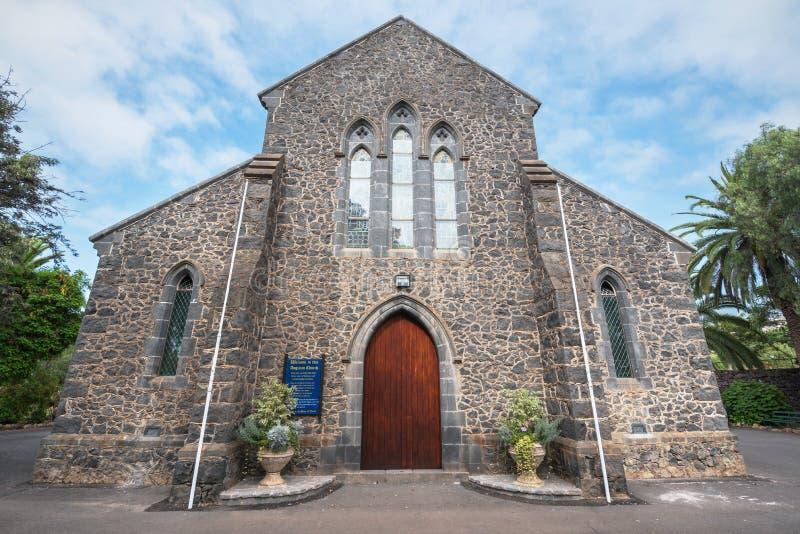 Wszystkie świętego kościół anglikański na Lipu 24, 2016 w Puerto De La Cruz, Tenerife, Hiszpania obrazy royalty free
