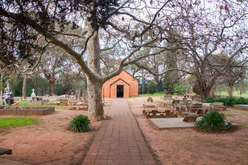 Wszystkie świętego kościół: Zachodnia Australia zdjęcia stock