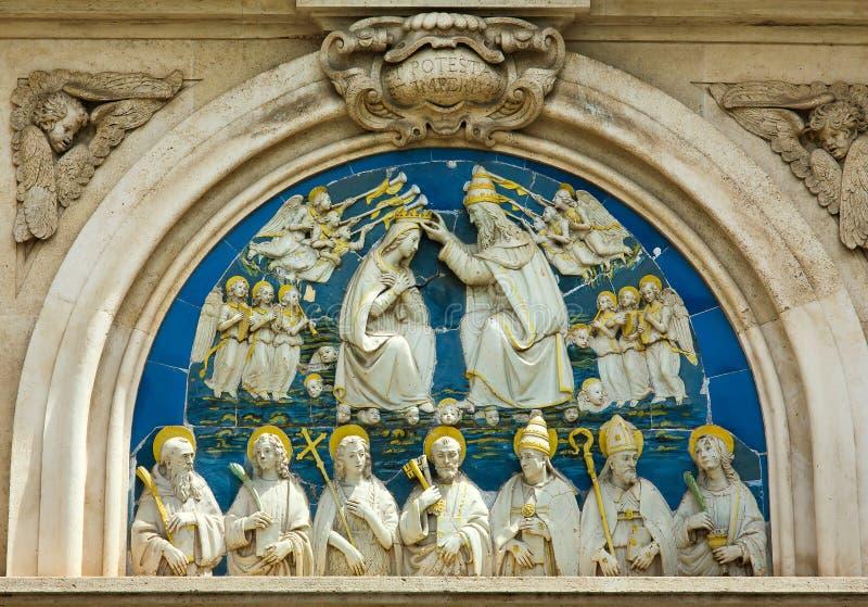 Wszystkie święty Kościelni; Piękny Florencja zdjęcie stock