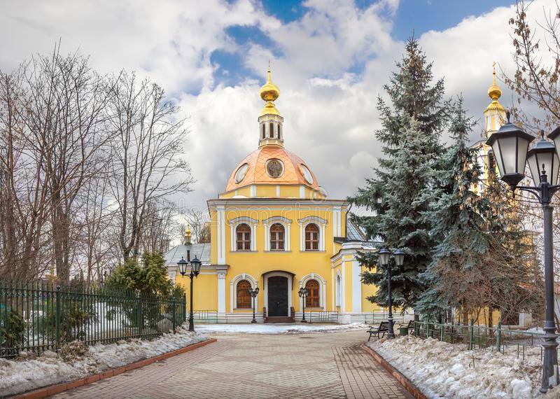 Wszystkie święty Kościelni przy Sokol moscow Rosja obrazy royalty free