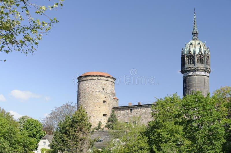 Wszystkie świętych Kościelny Wittenberg fotografia royalty free
