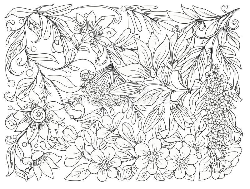 wszystkie jakaś składu elementów kwieciste ilustracyjne indywidualne przedmiotów skala rozmiaru tekstury wektor wiosna kwiat Akcy ilustracji