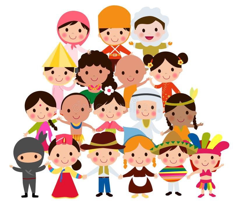 wszystkie jakaś społeczności elementów globalne ilustracyjne jednostki dzieciaków przedmiotów skala rozmiaru tekstury wektorowy ś ilustracji