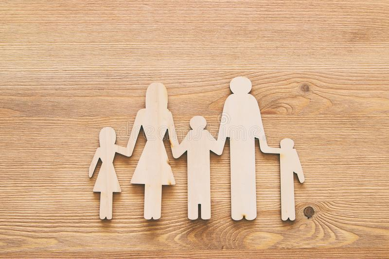 wszystkie pojęcia ubezpieczenia typ życia rodzinnego, pieniężnych i zdrowie zagadnienia, fotografia royalty free