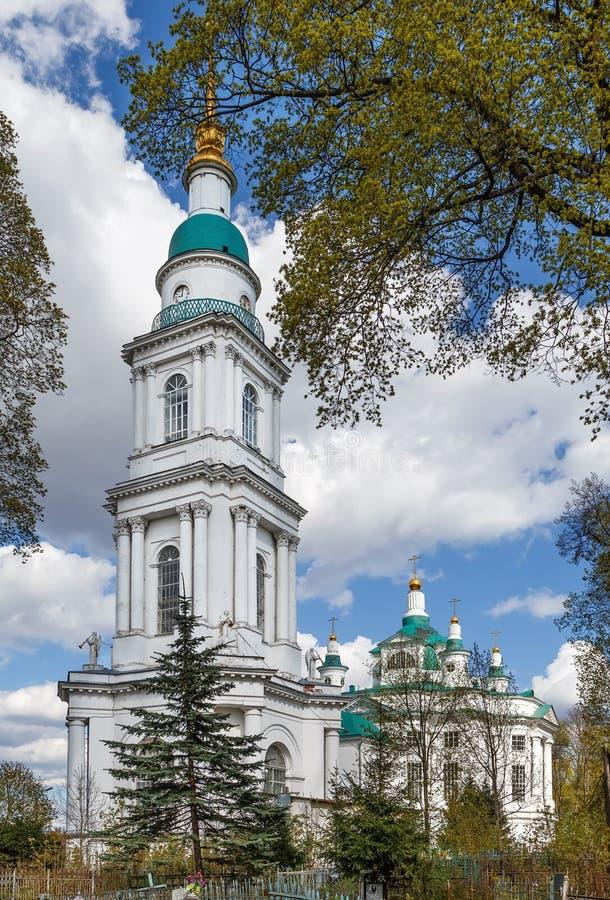 Wszystkie Saints katedry, Tula, Rosja fotografia royalty free