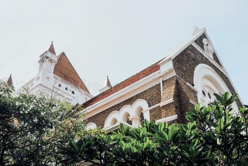 Wszystkie Saints Kościelni w Galle forcie zdjęcie royalty free