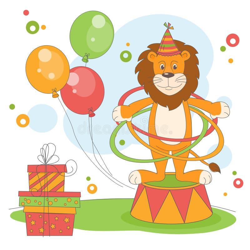 Wszystkiego Najlepszego Z Okazji Urodzin. ilustracja wektor