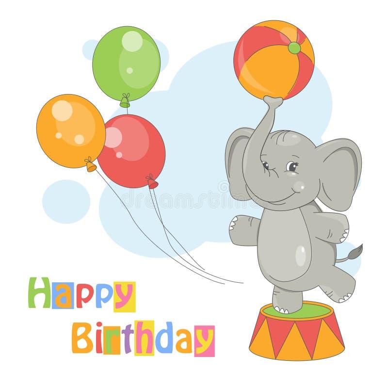 Wszystkiego Najlepszego Z Okazji Urodzin. ilustracji