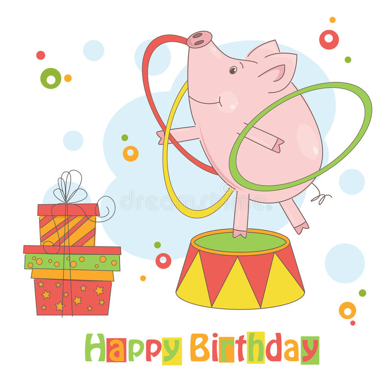 Wszystkiego Najlepszego Z Okazji Urodzin! ilustracji