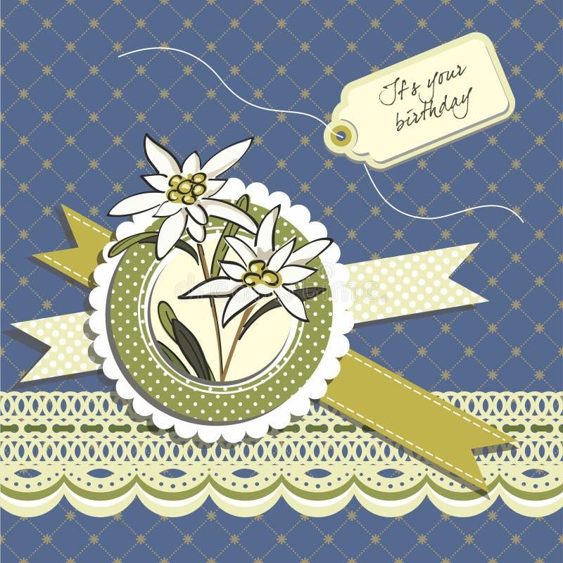 Download Wszystkiego Najlepszego Z Okazji Urodzin Kartka Z Pozdrowieniami Ilustracja Wektor - Ilustracja złożonej z układ, etykietka: 28966581