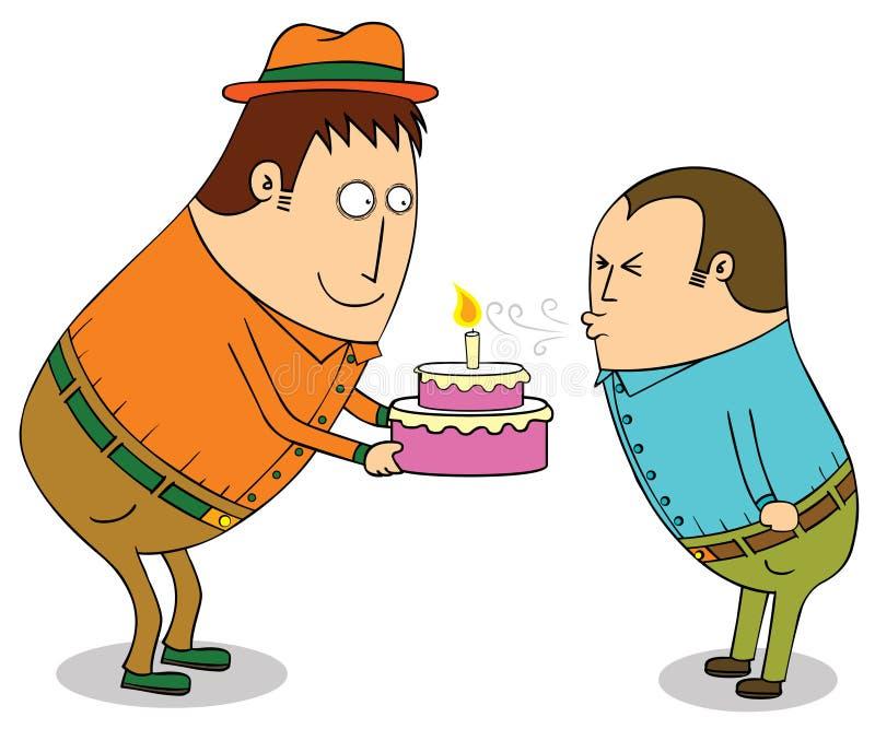 Wszystkiego najlepszego z okazji urodzin ty ilustracja wektor
