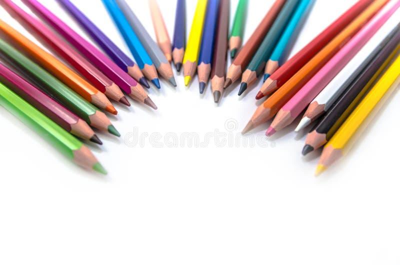 Wszystko jakby kolory zdjęcie stock