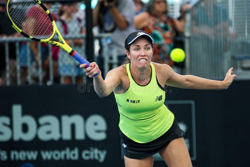 WTA Brisbane International 2020 stock images