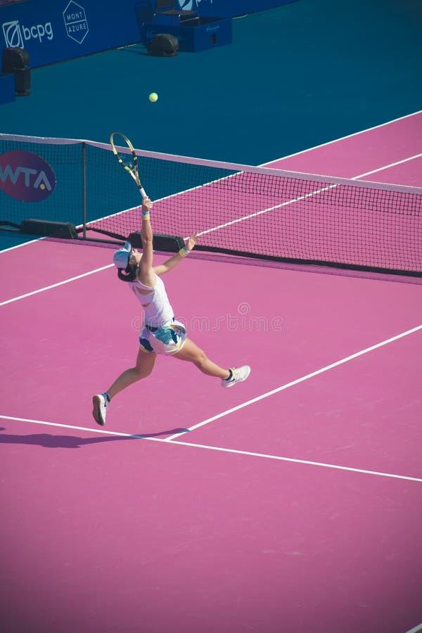 WTA 2020 Tennis Thailand Open royalty free stock images