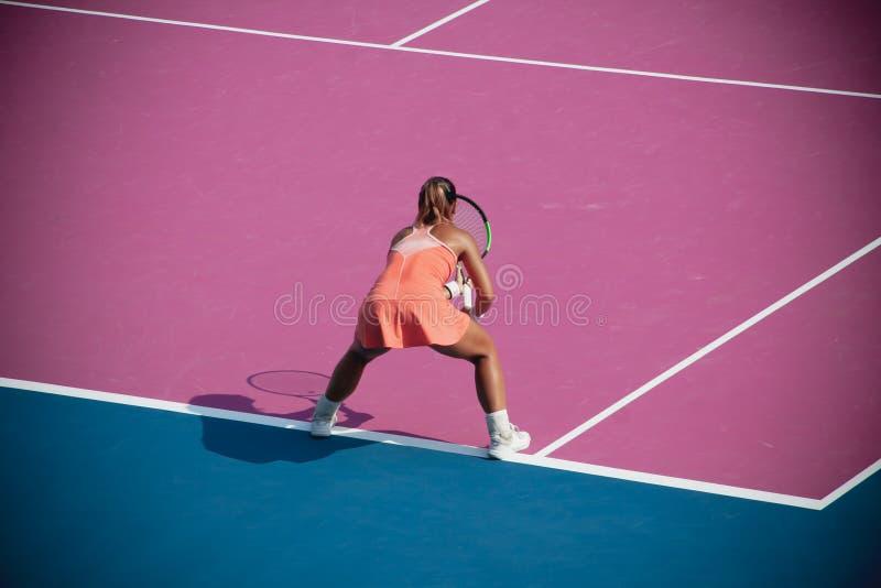 WTA 2020 Tennis Thailand Open stock image