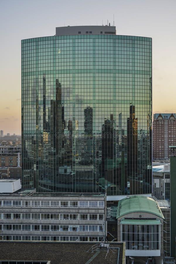 Wtc, das Rotterdam errichtet stockbilder