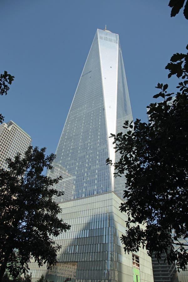 WTC, Gemalen Freedom Tower, Nul royalty-vrije stock afbeeldingen