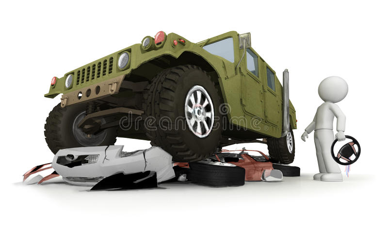 Download WTF with my car stock illustration. Image of danger, hood - 29454960