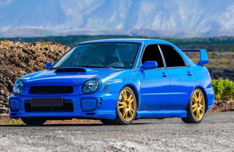 WTI de Subaru Impreza imagem de stock royalty free