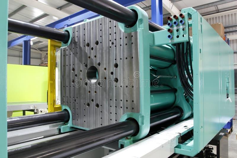 Wtryskowa pleśniejąca maszyna obraz stock