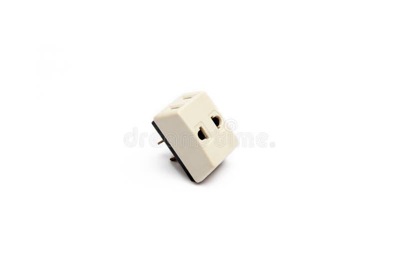 Wtyczkowy adaptator, fotografia royalty free