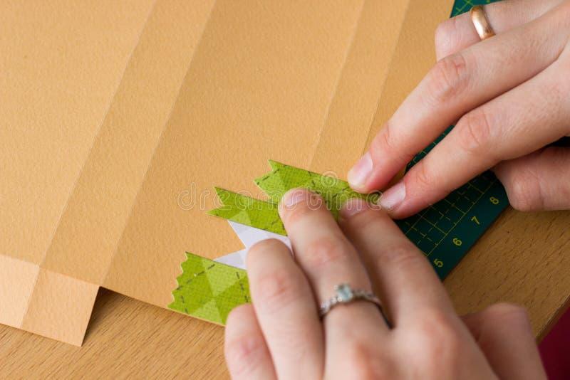 Wtykać papierowych paski zdjęcia stock
