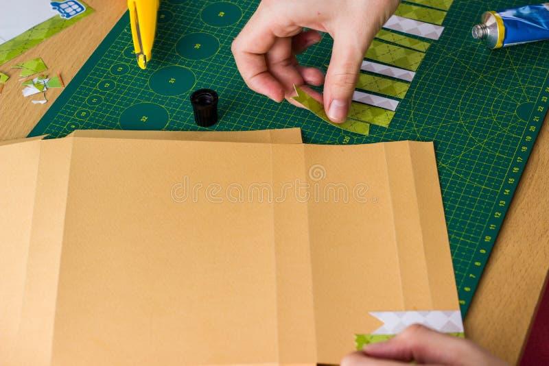 Wtykać papierowych paski obrazy stock