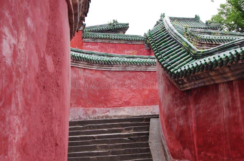 Wudang-Berg lizenzfreies stockfoto