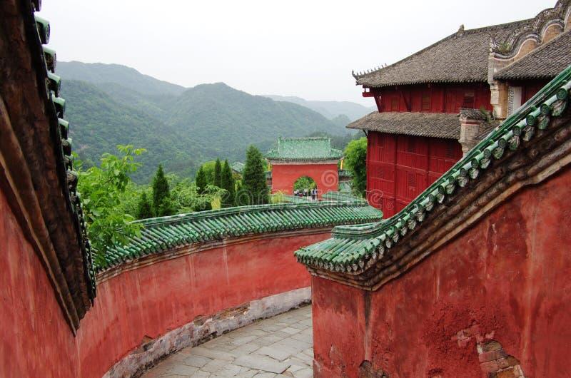 Wudang-Berg, China stockfotografie