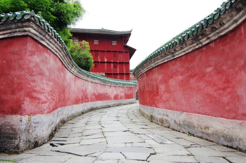 Wudang góra, Chiny zdjęcie stock