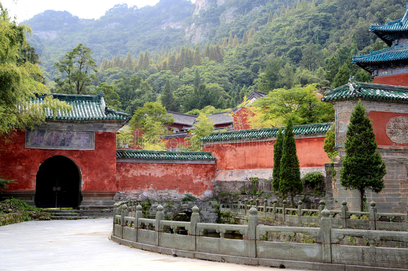 Wudang mountain , a famous Taoist Holy Land in China. Wudang mountain , a famous Taoist Holy Land and World Cultural Heritage in China,loacted in Shiyan city royalty free stock images