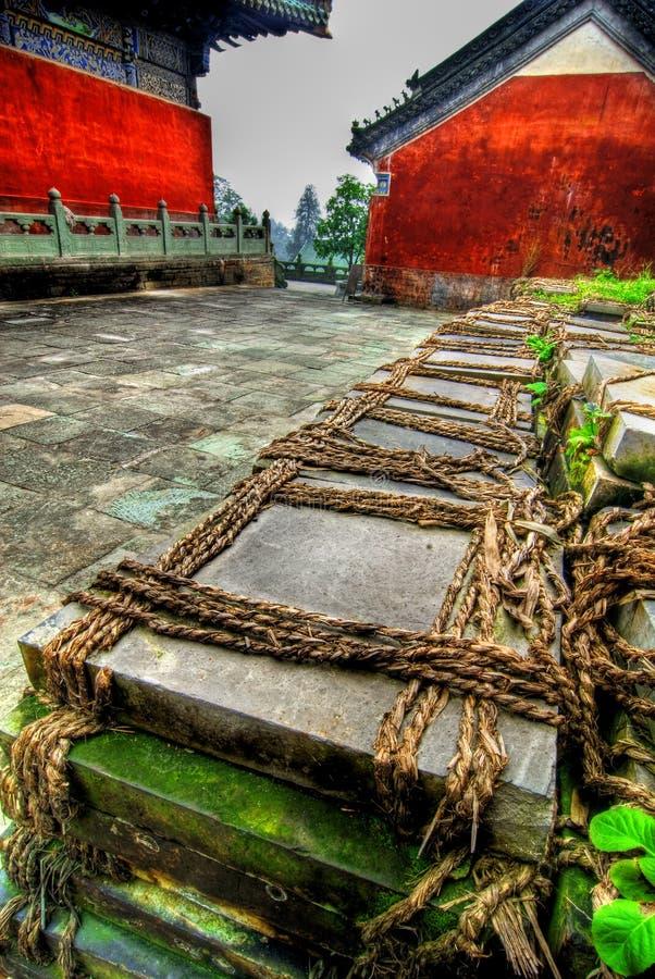Wudang Shan Tempel lizenzfreie stockbilder