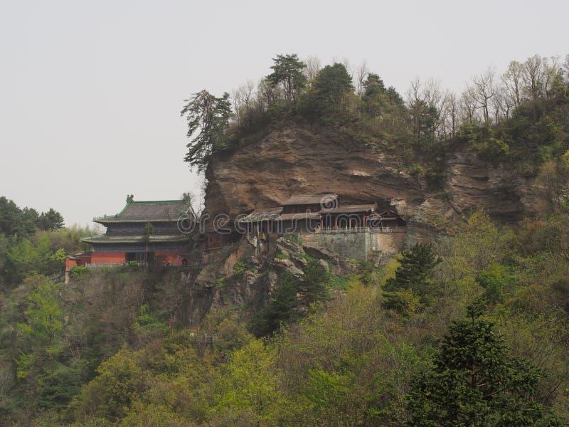 Wudang-Tempel und Wudang Mountaing Der Ursprung des chinesischen Taoist lizenzfreie stockfotos