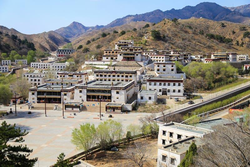 Wudangzhao Lamasery. Baotou, China royalty free stock image