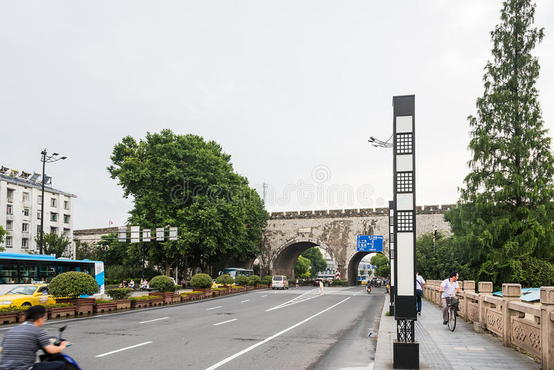 Wuding Gate royalty free stock photos