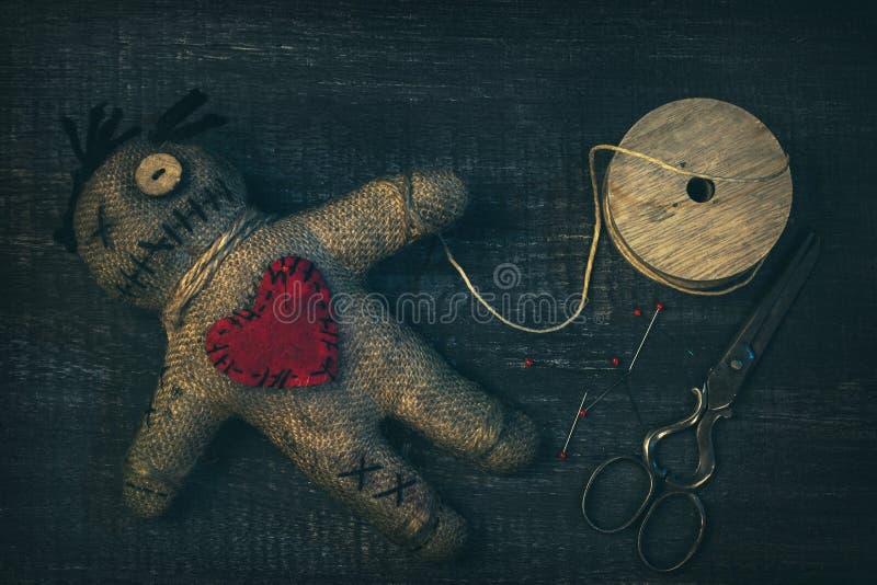 Wudu lala z szpilkami obraz stock