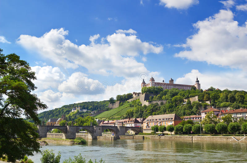 Download Wuerzburg stock photo. Image of europe, riverside, cityscape - 26577370