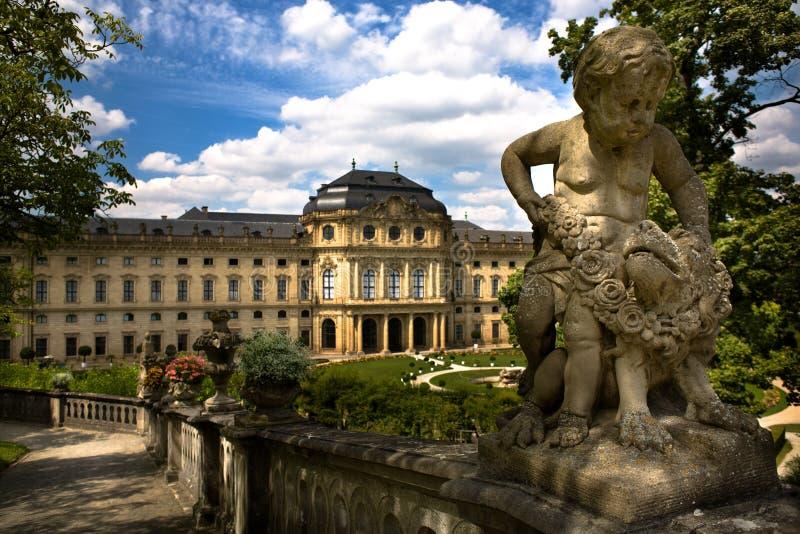 Wuerzburg Residence Stock Images