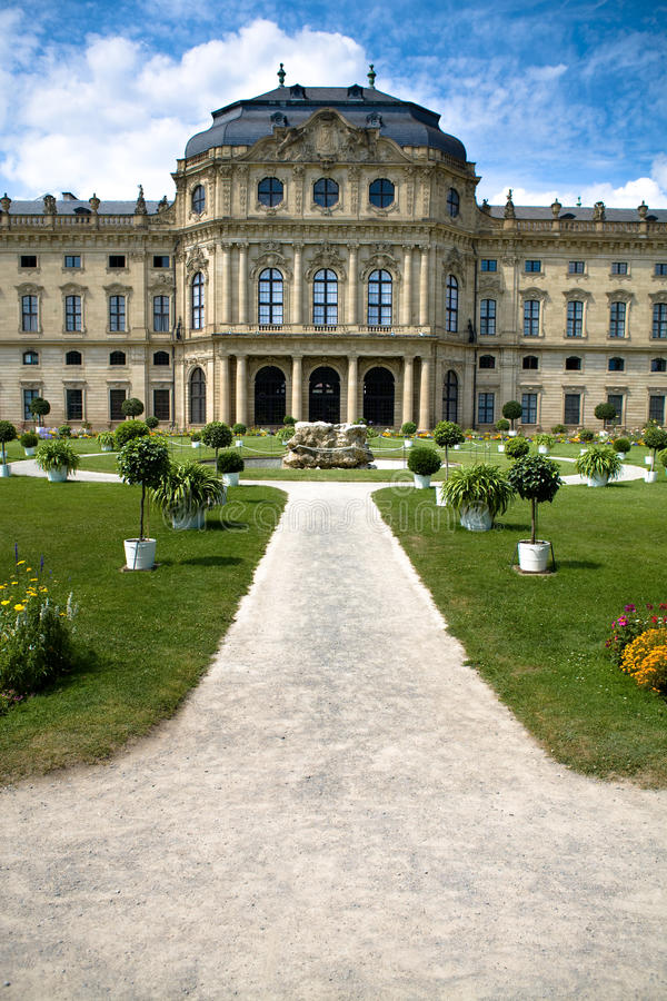 Download Wuerzburg Residence stock photo. Image of exterior, formal - 10504158