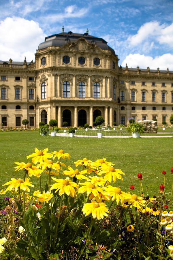 Wuerzburg Residence Royalty Free Stock Photography