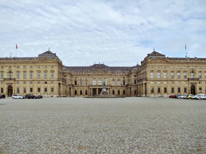 Wuerzburg siedziba zdjęcia royalty free