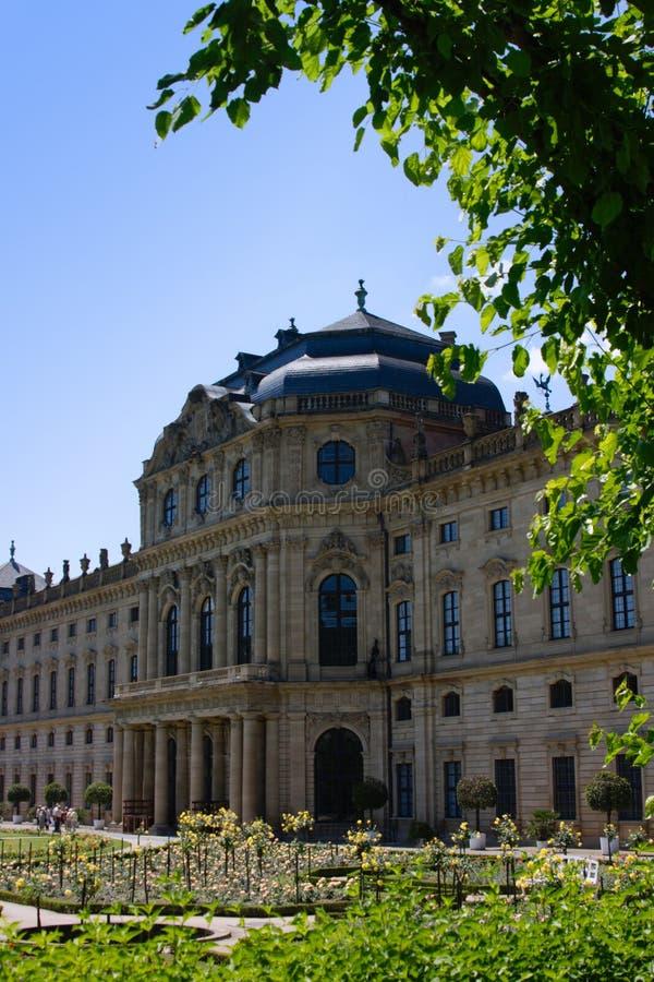 Wuerzburg zamieszkania fotografia stock