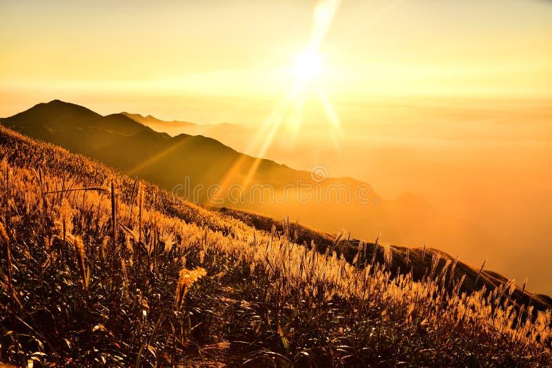 Wugong-Berg stockbild