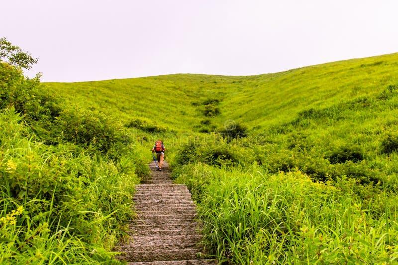 Wugongshan mountain stock photo