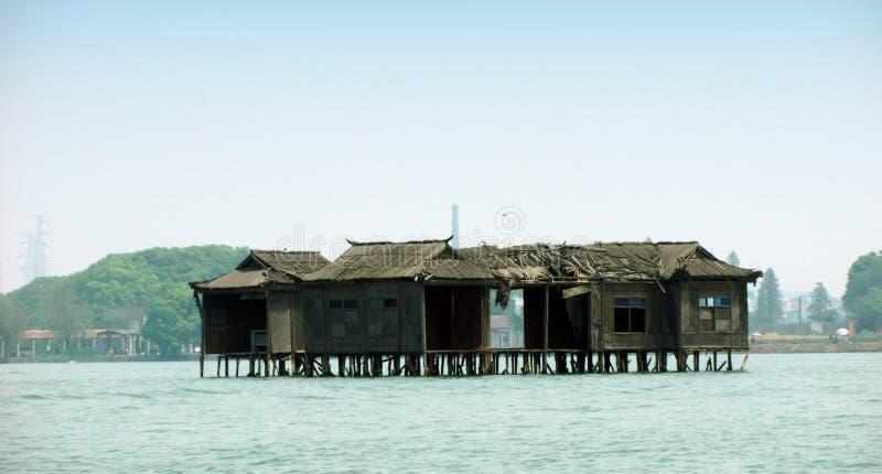 Wuhan östlig sjöturism i Kina arkivbild