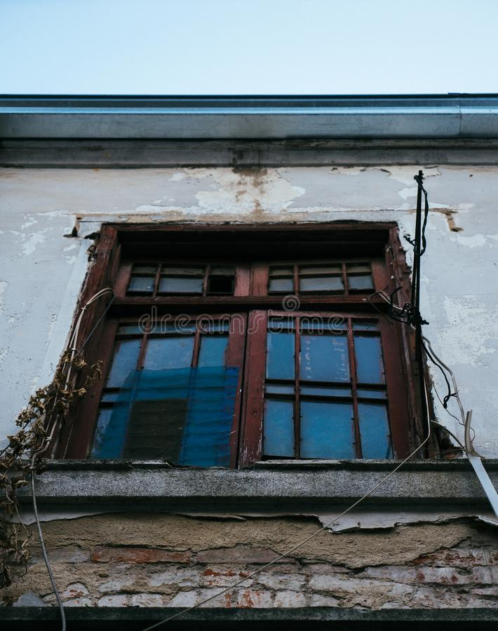 WINDOW IN HUTONG. royalty free stock image