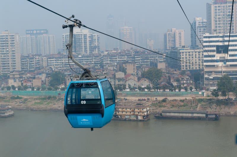 Download Wuhan Stadsplats - Kabelbil Redaktionell Foto - Bild av town, cityscape: 27277000