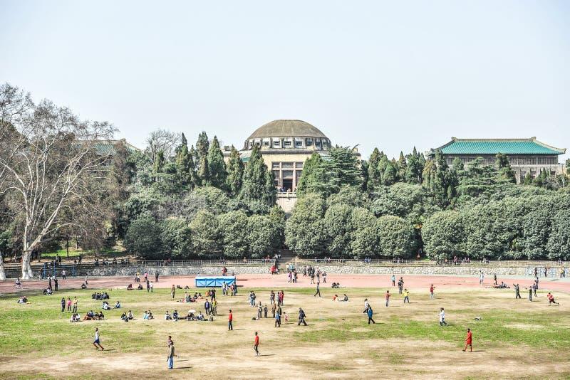 Wuhan-Universität ist in Wuhan, Hubei, China stockfotos